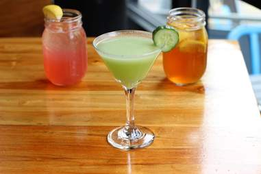 Hill and Bay cocktails