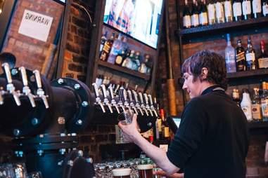clinton hall bar