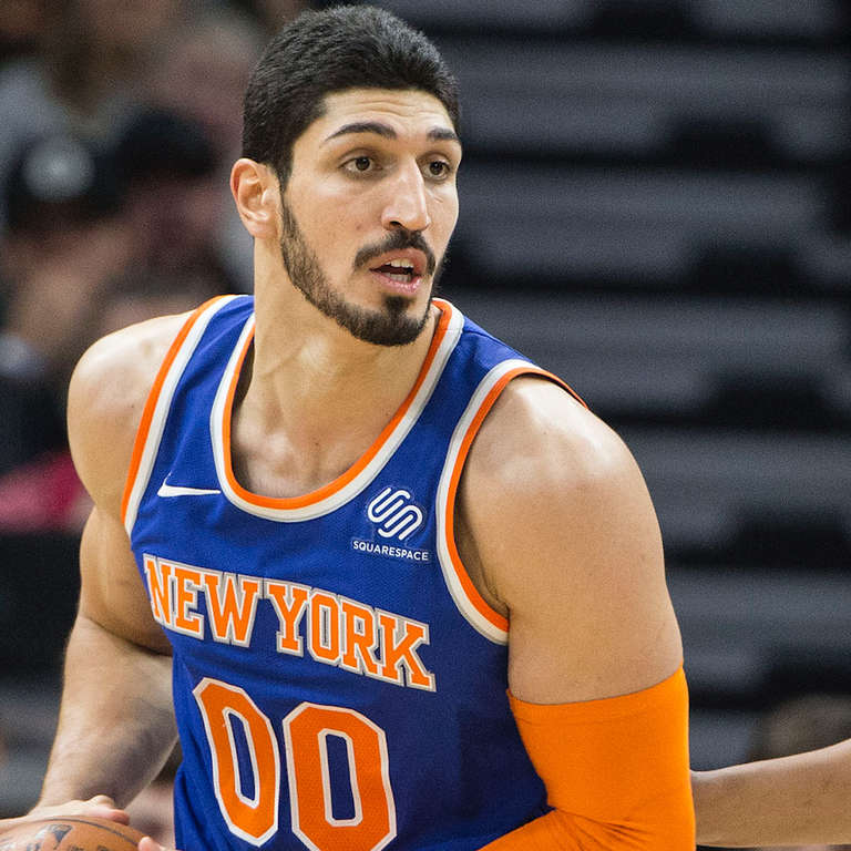 knicks player enes kanter on standing up to the turkish