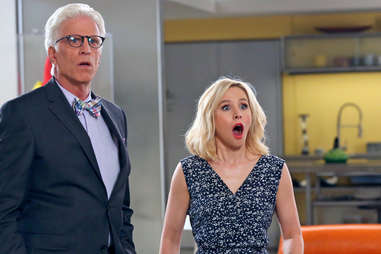 ted danson and kristen bill in the good place