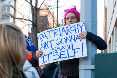 nyc women's march patriarchy