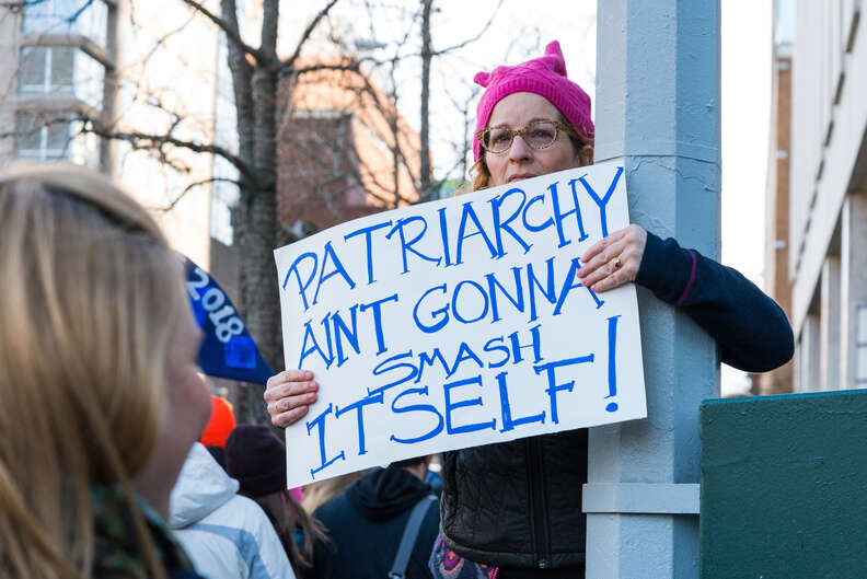 nyc women's march patriarchy