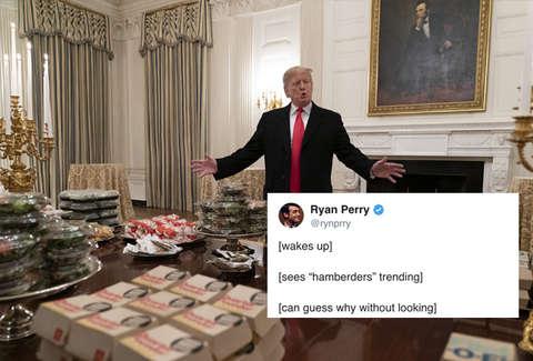 Hamberders Meme President Trumps Harmburger Tweet Is A New Meme
