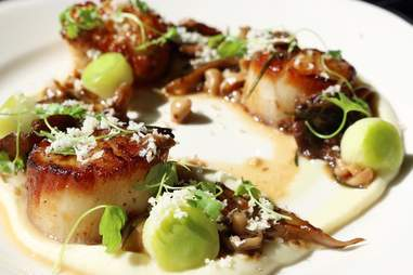 Loch Bar scallops