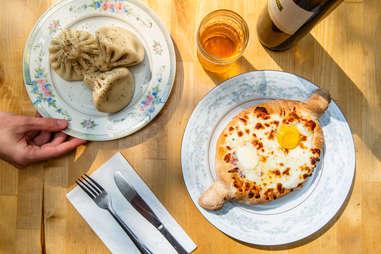 Kargi Gogo bowl and dumplings