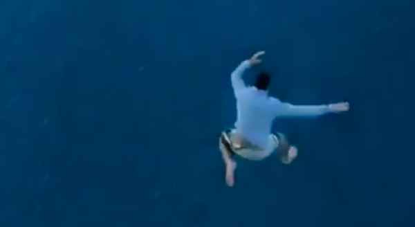 Dude Nearly Dies Jumping off Cruise Ship in Viral Video Stunt, Is Promptly Banned for Life