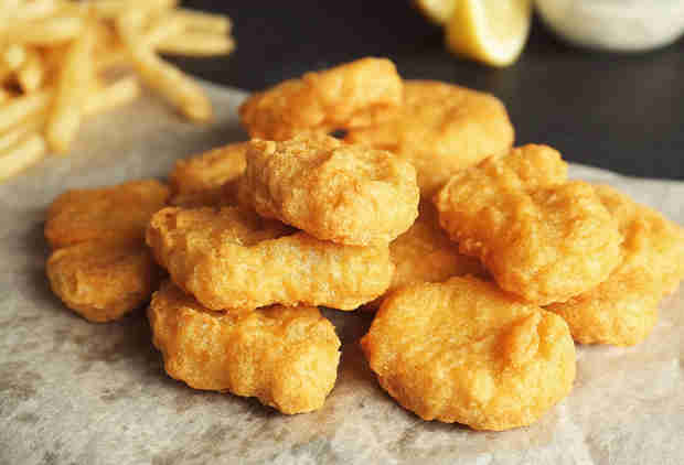 70,000 Pounds of Chicken Nuggets Recalled for Potentially Containing Wood