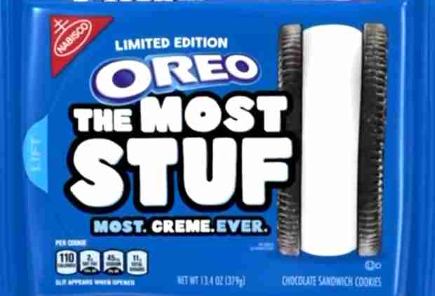 Oreo Just Unleashed Huge New Cookies With 4 Times the Creme Filling