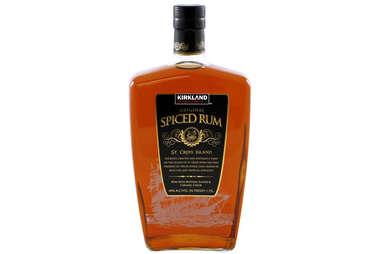 Kirkland rum bottle spiced rums costco liquor