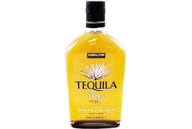Kirkland tequila bottle