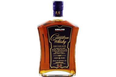 Kirkland Whisky bottle canadian whiskey costco liquor booze