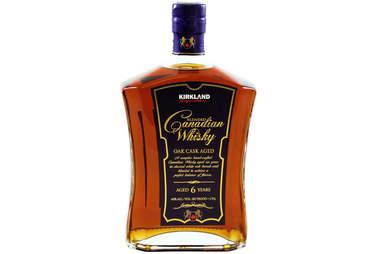 Kirkland Whisky bottle