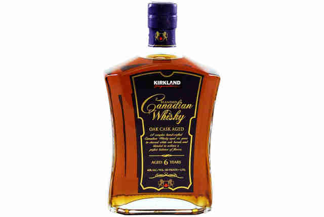 Kirkland Whisky bottle