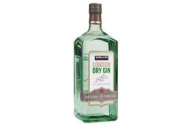 Kirkland London dry gin bottle liquor hard alcohol costco booze cheap