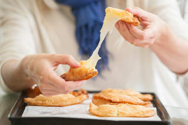 Cheesy empanada