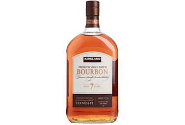 Kirkland Bourbon bottle