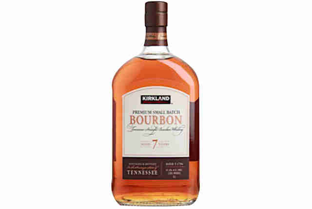 Kirkland Bourbon bottle
