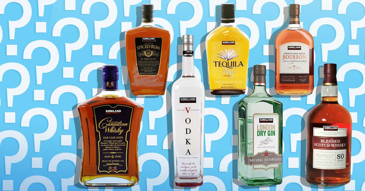 Which Companies Actually Make Costco's Kirkland-Brand Booze?