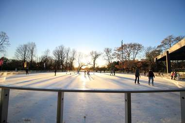 Lakeside BKLYN skating rink