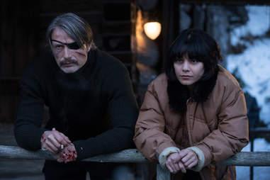 Polar Movie Review Mads Mikkelsen Netflix Thriller Is Bloody Good Thrillist