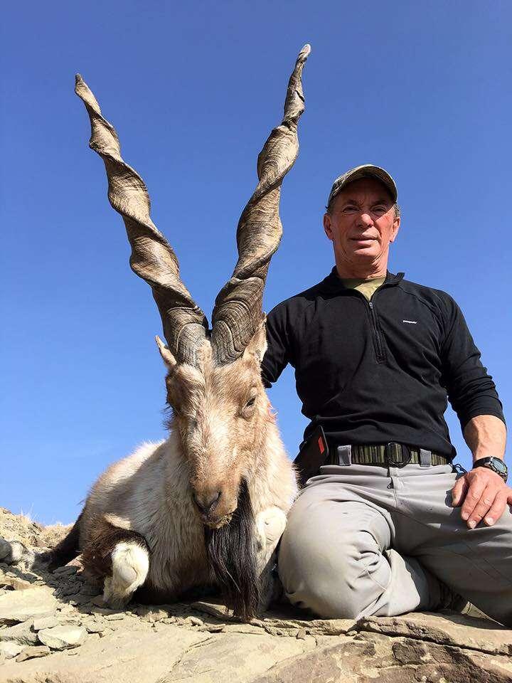 trophy hunting goat pakistan