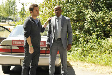 james roday rodriguez and dule hall in psych