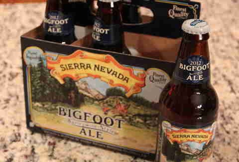 Sierra Nevada Bigfoot Barleywine 2012