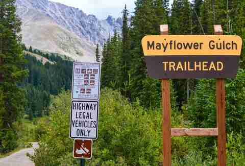 Mayflower Gulch Trail