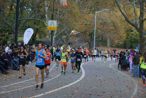 Central Park, New York City Marathon