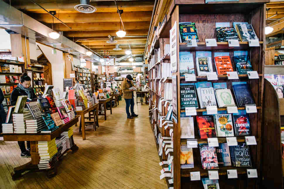 The Tattered Cover book store in downtown Denver, Colorado