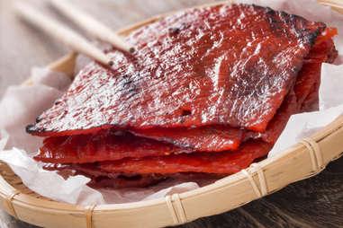 chinese pork jerky