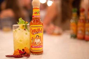 pineapple Cholula hot sauce