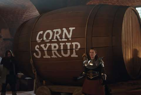 corn syrup beer