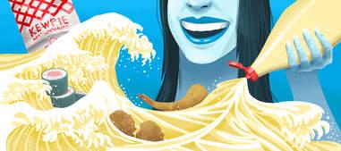 Kewpie Japanese mayonnaise wave mayo squeeze bottle mayonnaises creamy japan japanese