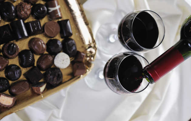 8 Wines To Pair With Chocolate For Valentine's Day