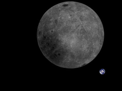 Far Side of Moon Picture