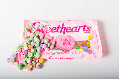 Bag of sweethearts conversation candy