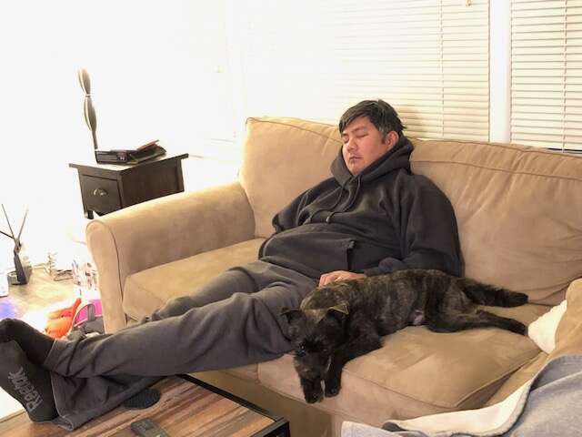guy gets to keep foster dog