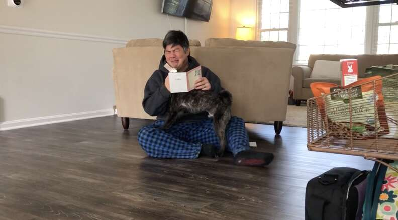 guy gets to keep his foster dog