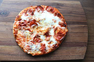 Pizza Romana pepperoni frozen pizzas personal dinner lunch cheese slices slice