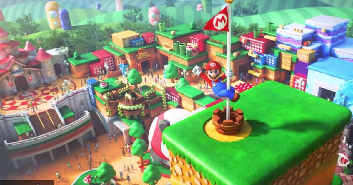 Is Universal Studios Building Nintendo Land? Super Mario