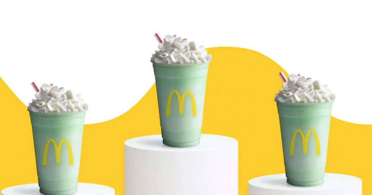 Shamrock Shakes Are Officially Back at McDonald's. Here's What You Need to Know.