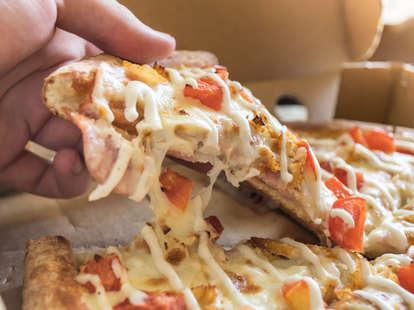 hidden valley ranch blasted pizza