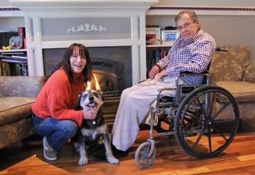 Senior dog needing new home