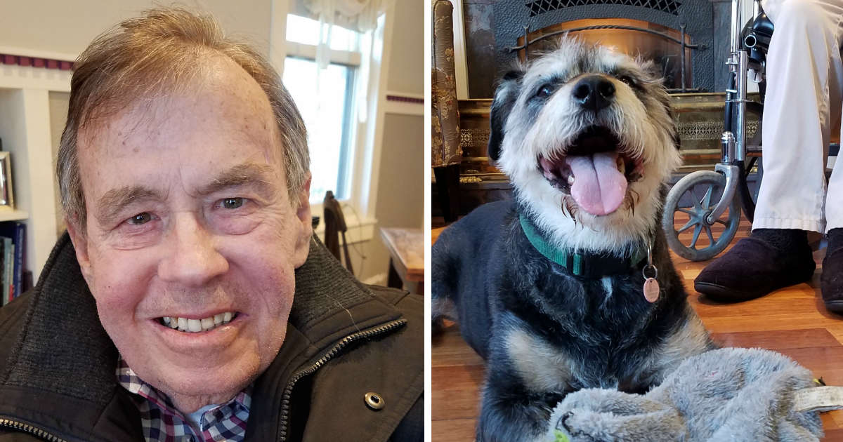 Man With ALS Is Trying to Make Sure His Dog Has A Home After