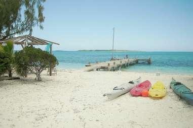 Exuma Point Bahamas beach