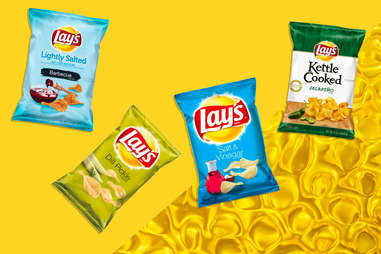 Lay's chips lightly salted