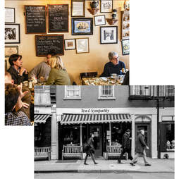 Tea & Sympathy interior and exterior view