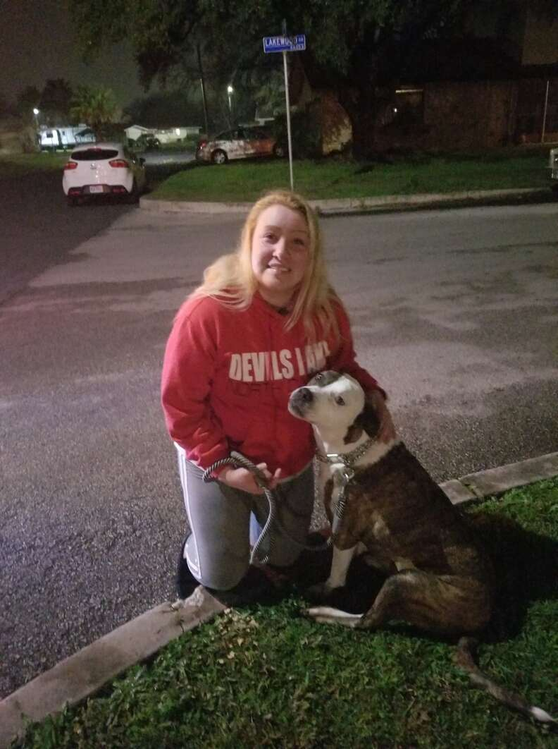Texas woman reunites with her dog after 8 years