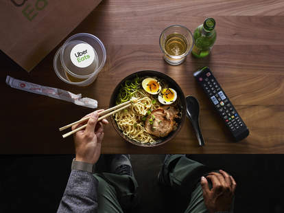 uber eats free food